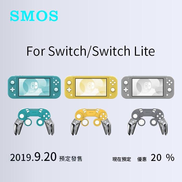 Contrôleur de jeu Mobile pour commutateur de manette Console Lite Mini combiné poignée Pro Ns support de Vibration sans fil Bluetooth