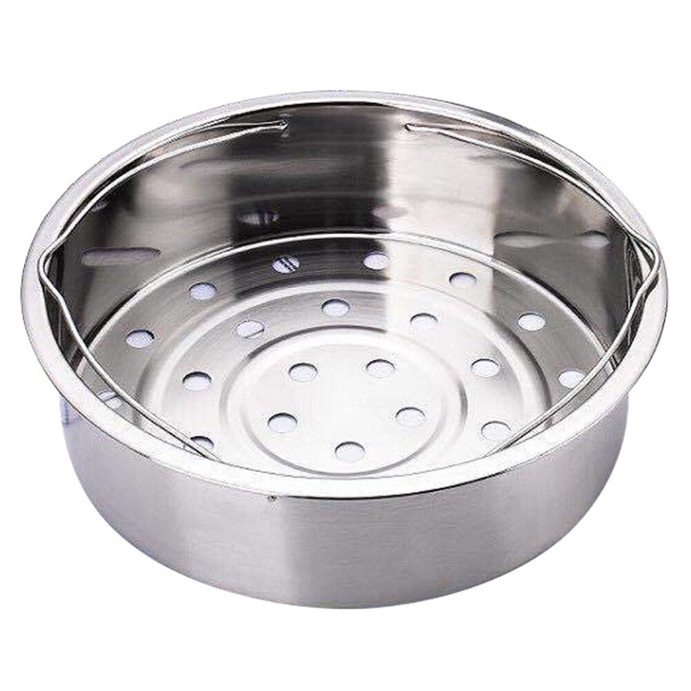Stainless Steel Pot Steamer Basket Egg Steamer Rack Divider For Pressure Cooker Pot Dropshipping FAS