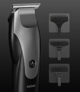 Image 5 - ENCHEN שיער גוזז מקצועי גוזז אלחוטי USB טעינה חיתוך מכונת ירד גוזם מפני Xioami Youpin 5