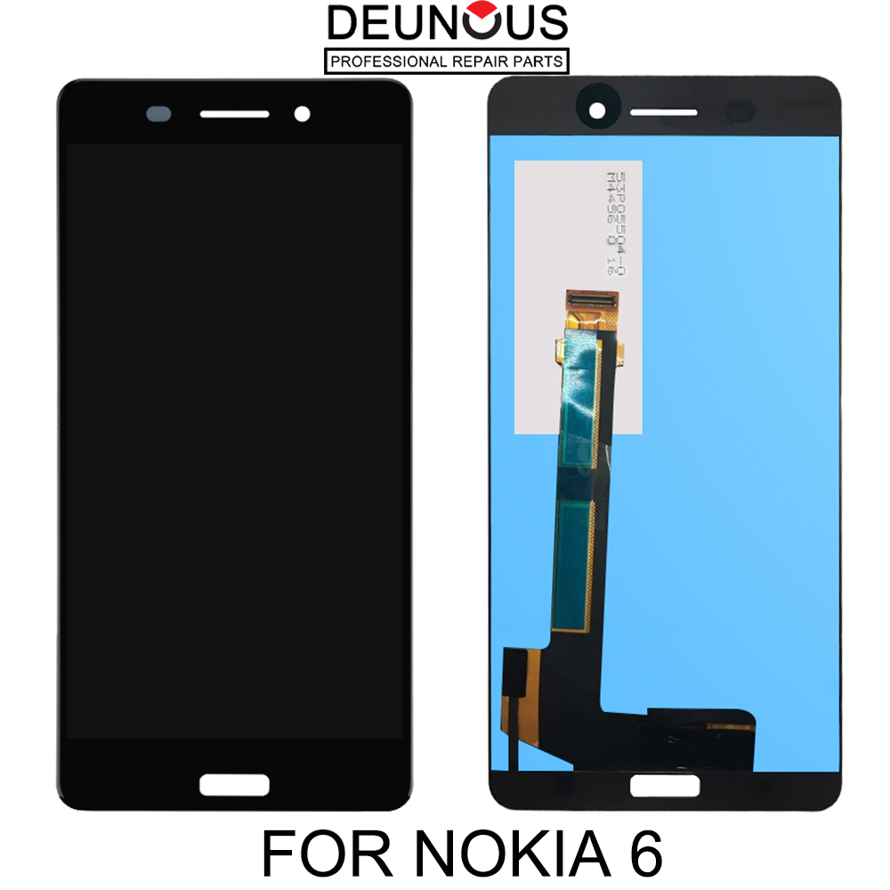 For Nokia 6 Touch Screen Glass Panel Digitizer LCD Display Assembly For TA-1021 TA-1033 TA-1025 LCD Display