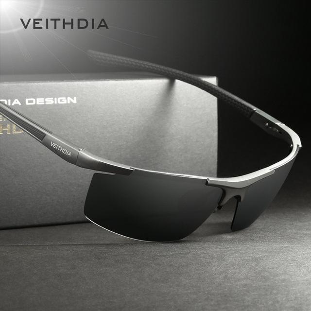 VEITHDIA Aluminum Magnesium Men's Sunglasses!
