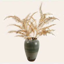 105 CM 80 CM grandes plantes artificielles doré en plastique palmier branche fleur Arrangement matériel mariage feuilles décoration de la maison