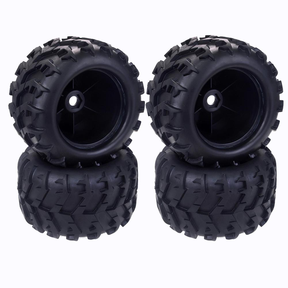 17mm Hub Hex wheel tires for Redcat Hsp Kyosho Hobao Hongnor Team Losi GM DHK HPI 1/8 Truggy Monster Truck Truggy(China)