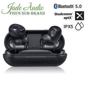 JadeAudio(FiiO) EW1 TWS IPX5 Bluetooth aptX V5.0 Sports Wireless Earphones with aptX/AAC Support(Clear Calls/Touch Control)