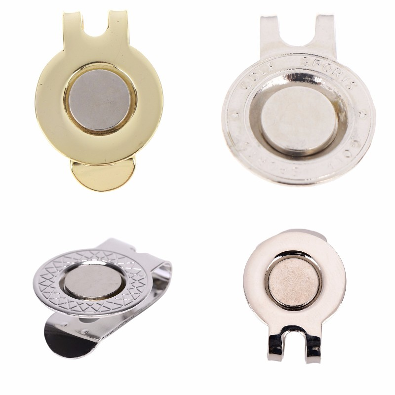 Golf Cap Clip Golf Ball Aiming Marker Alloy Professional Golf Training Aids Accessories High Quality