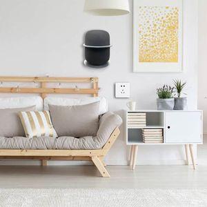 Image 2 - Upgraded Version Aluminum Stand Holder Wall Mount Bracket for HomePod Speaker 24BB