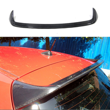 E87 E81 AC Style Rear Roof Lip Spoiler Wing Carbon Fiber for BMW 1 Series Hatchback 2004-2011
