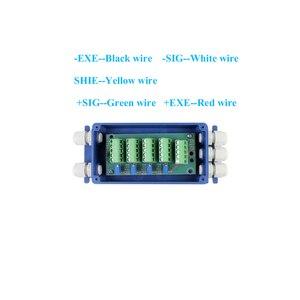 Image 2 - النسخة الإنجليزية DIY بها بنفسك صغيرة الحجم مجموعة كاملة الملحقات RS232 تحميل متر YZC 320 تحميل YZC 320C الخليوي مؤشر XK3190 A12 + E