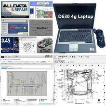 2020 quente d630 4gb computador portátil 24 software em 2tb hdd reparação automóvel alldata software v10.53 m .. chell on-dem .. d 2015 atsg pronto para usar