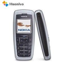 Nokia 2600 Original Unlocked 2600 one sim card FM Radio Old fashion Good Qualit Original Mobile one year warranty