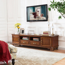 Шкаф для телевизора, мебель для гостиной из дерева манго, шкаф для ТВ WA677
