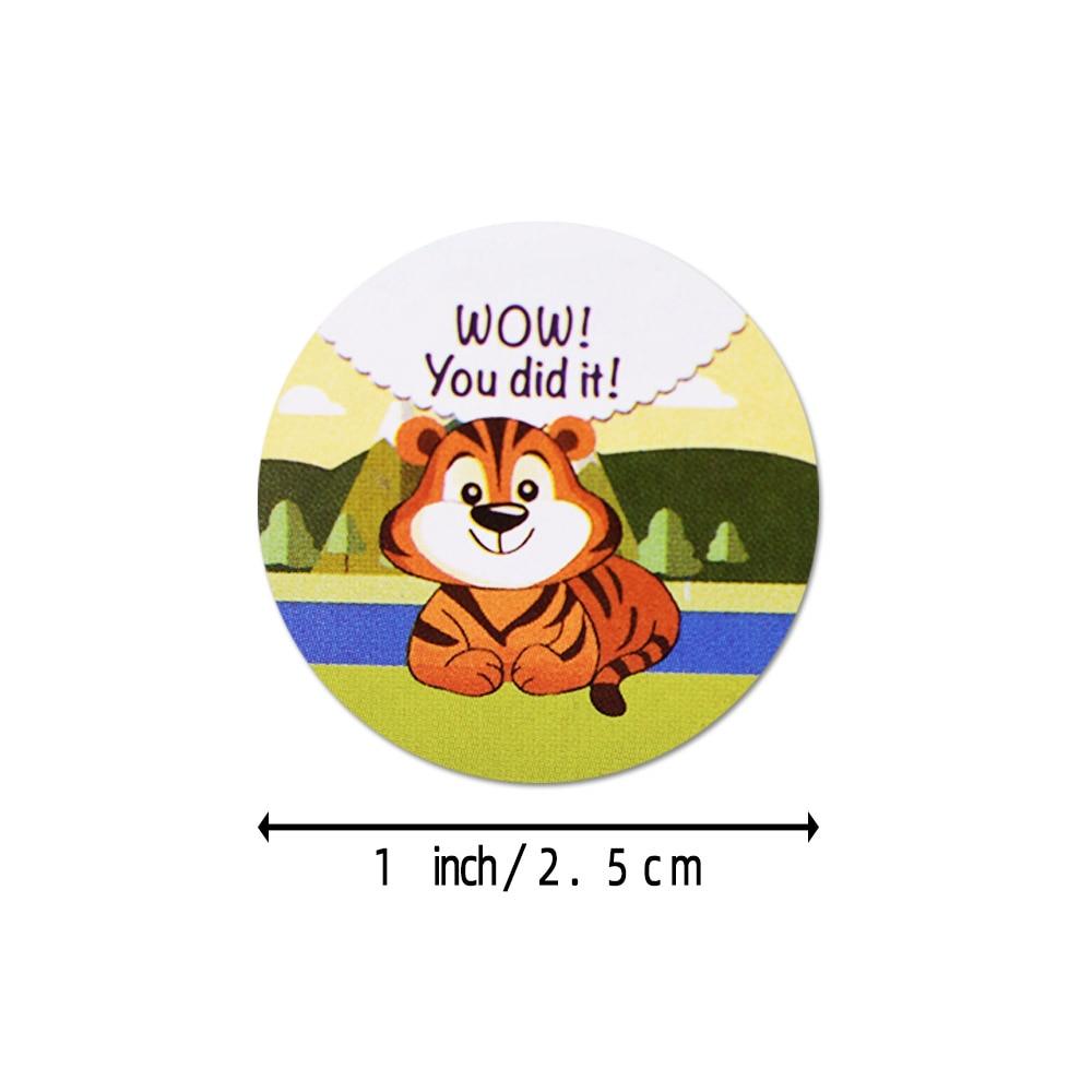 500pcs//roll Reward Stickers for Students Teachers Encouragement Sticker Kid DOL
