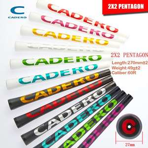 NEW Crystal Standard CADERO 2X2 PENTAGON AIR NER Golf Grips 9 Colors Available Transparent