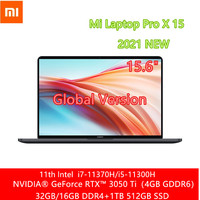 Xiaomi Mi portátil Pro X 15 Intel Core i7-11370H/I5-11300H 32G/16G + 1T/512G RTX 3050 Ti 15,6 pulgadas 3,5 K OLED de portátil para Gaming computadora