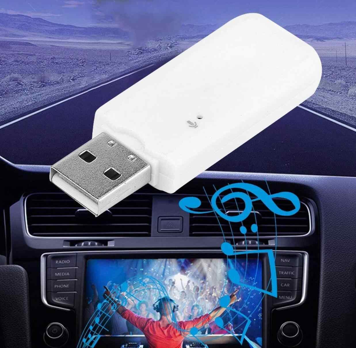Usb Bluetooth Audio Penerima Nirkabel Adapter untuk Radio 2 DIN Android Volvo V70 BMW E61 Skoda Cepat Fiat Bravo Subaru