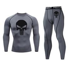 long underwear Men's suit Compression tights Jogging suit full man tracksuit Sku