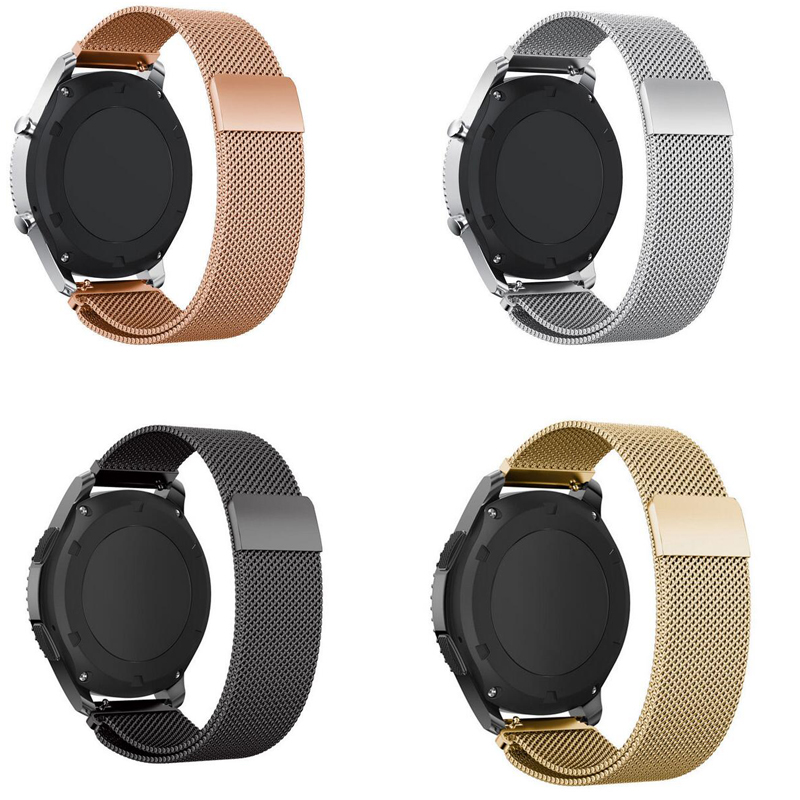 18mm 20mm 22mm Wrist Band For Zenwatch Ticwatch S S2 E 2 1 Pro C2 Samsung Galaxy Watch Active 2 42mm 46mm S2 S3 Bracelet Strap