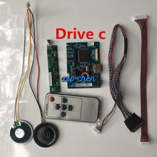 For B101XTN01/CLAA101WA01 1366*768 HDMI LCD screen control board monitor kit (support audio)