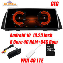 8 Core Android 10 car dvd Player for BMW 5 Series F10 F11 2010-2017 CIC NBT Car GPS Navigation Multimedia Radio 4G WIFI Idrive