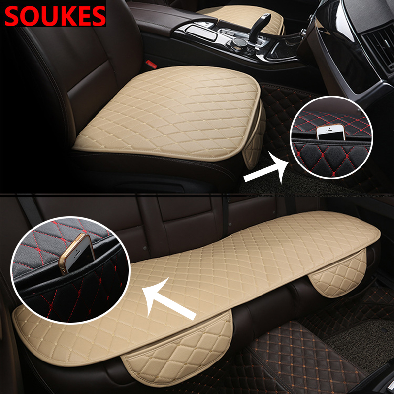 PU Leather Car Accessories Front Rear <font><b>Seat</b></font> <font><b>Cover</b></font> For Peugeot 307 206 308 407 207 2008 3008 508 406 208 <font><b>Mazda</b></font> <font><b>3</b></font> 6 2 <font><b>CX</b></font>-5 CX5 <font><b>CX</b></font>-7 image