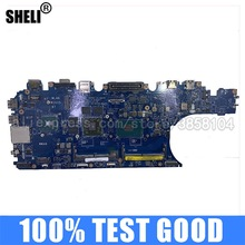 Laptop Motherboard I7-6820HQ LA-C841P DELL Original Used for E5570 2GB Adp80/La-c841p/Cn-0n98y6/..