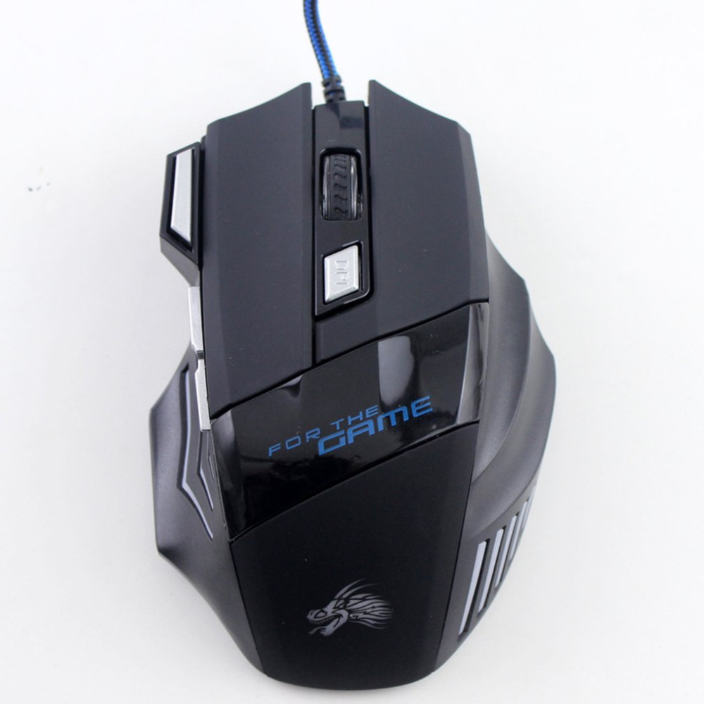 Mice Gamer Mouse Wired Gaming Mouse Game Mice USB Receiver 2.4GHz Optical Wired Mouse For PC Laptop Gamer Dropshipping