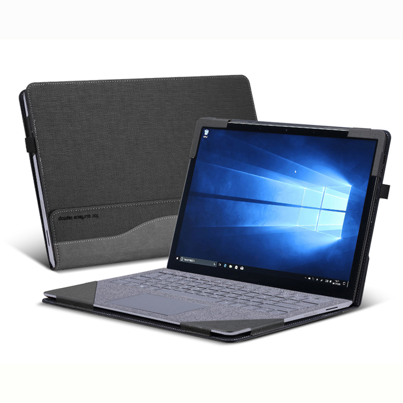 Laptop Case For Microsoft 2019 Surface Laptop 3 13.5 Inch Split Portable PU Leather Protective Cover For Surface Laptop 2 1 Gift
