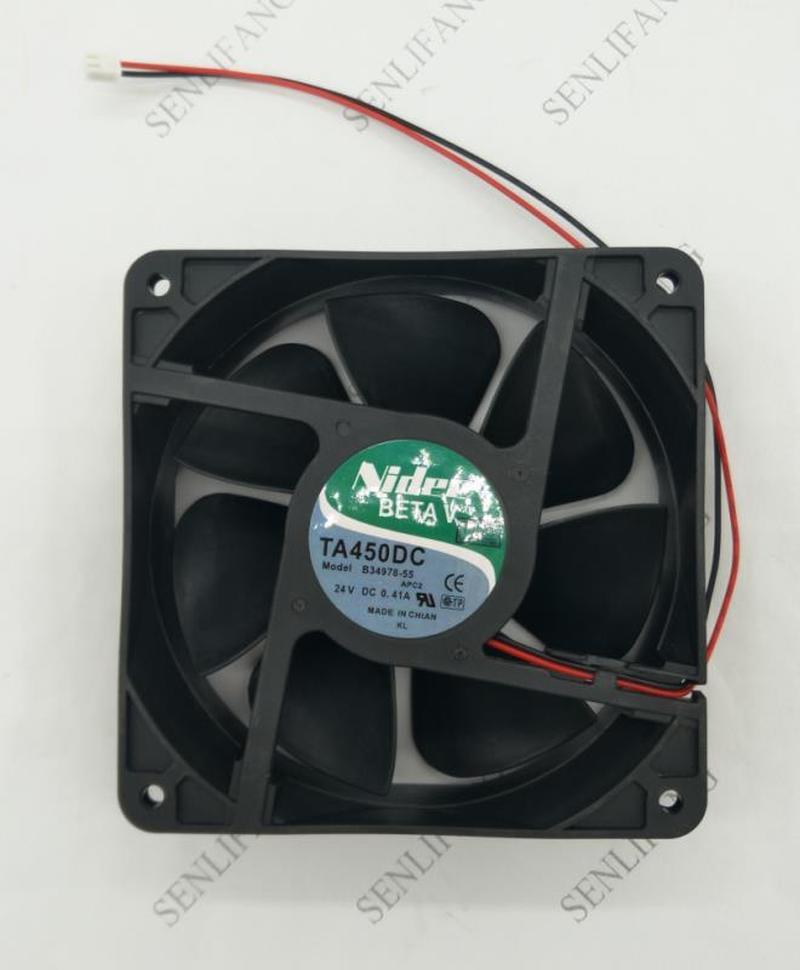 120*120*38mm TA450DC B34978-55 24V 0.41A 12cm 12038 Windy Inverter Fans For Nidec