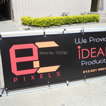 80*200cm A Shape Display Banner Stand with UV Printing