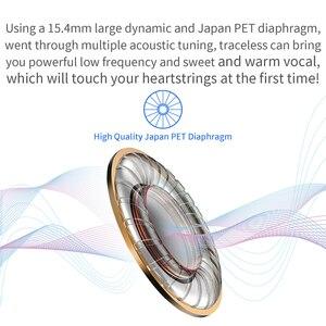 Image 4 - Nicehck 痕跡 3.5 ミリメートル hifi インナーイヤー型 15.4 ミリメートルダイナミックドライバユニット dj 低音イヤホン有線 hd マイクヘッドセット ME80/EB2/B40 vido