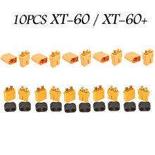 10PCS Of XT60 XT-60 / XT60+ / XT30UPB Male Female Bullet Connectors Plugs F XT60 For RC FPV Lipo Battery RC Quadcopter (5 Pair)(China)