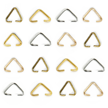 Jump Rings Clasps-Buckle Connectors Jewelry-Making-Accessories Triangle for 6x10mm 100pcs
