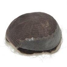 Блок для волос для мужчин Q6 базовый Мужской блок для плетения волос протез парик Мужские шиньоны