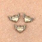 6pcs Charms heart ha...
