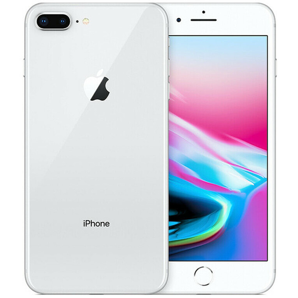 "Original apple iphone 8 plus 5.5 ""ios 4g lte ram 3gb rom 64/256gb hexa núcleo 12mp toque id impressão digital telefone celular smartphone 5"