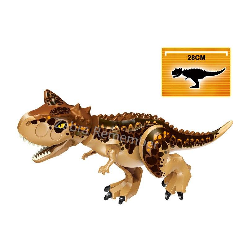 Image 3 - Jurassic World Dinosaurs Figures Bricks Tyrannosaurus Indominus Rex I Rex Assemble Building Blocks Kid Toy Dinosuar-in Blocks from Toys & Hobbies