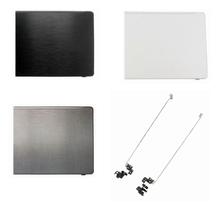 Novo para acer F5-573 F5-573G tampa traseira caso superior portátil lcd capa traseira preto/prata/branco/azul/lcd dobradiças esquerda + direita