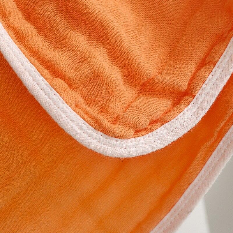 Cobertor do bebê para recém-nascidos de algodão