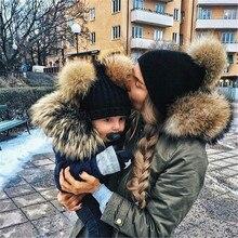 2pcs Cute Mother and daughter Infantil Toddler Newborn Baby Kids Boys Girls Unisex Knitted Crochet B