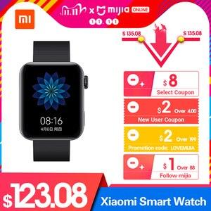 Image 2 - 새로운 Xiaomi 스마트 워치 GPS NFC WIFI ESIM 전화 통화 팔찌 손목 시계 스포츠 블루투스 피트니스 심박수 모니터 트래커 MIUI