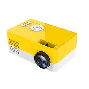 Image 2 - Nouveau HD J15 Mini projecteur Portable 1920*1080P Support AV USB carte SD USB Mini Home cinéma projecteur Portable projecteur PK J9