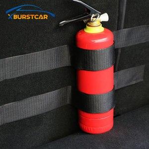 Xburstcar сумка для хранения в багажник автомобиля Волшебные Ленты Огнетушитель наклейки для Ford Focus 2 3 4 Ecosport Fiesta Everest Kuga Escape