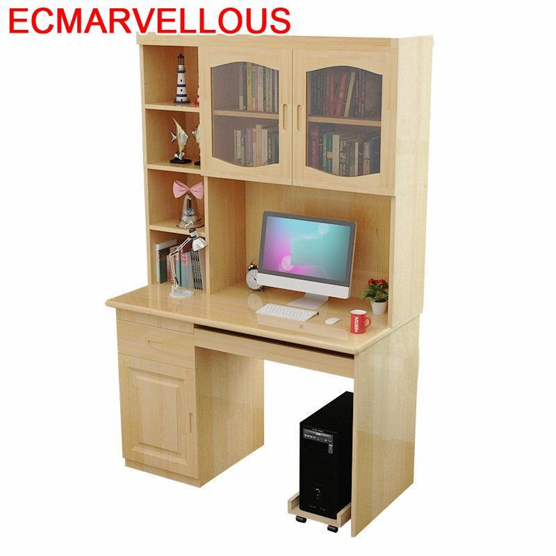 Ufficio Escrivaninha Escritorio Mueble Dobravel Scrivania Small Vintage Wooden Tablo Mesa Computer Bedside Table With Bookcase