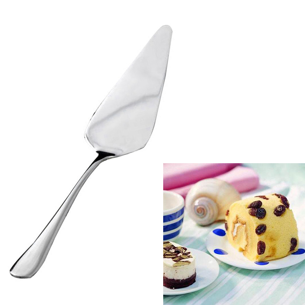 Cheese-Cutter Pizza-Shovel Pastry-Tool Stainless-Steel 1-Pc Ice-Divider Food-Server Western title=