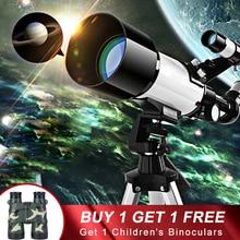 Nanoo HD Monocular telescope Professional childrens stargazing viewing world with Tripod