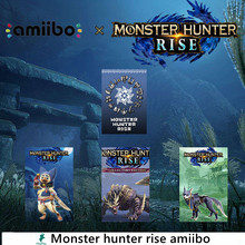 Monster Hunter Rise amiibo for Nintend switch Palamute Palico Magnamalo for switch