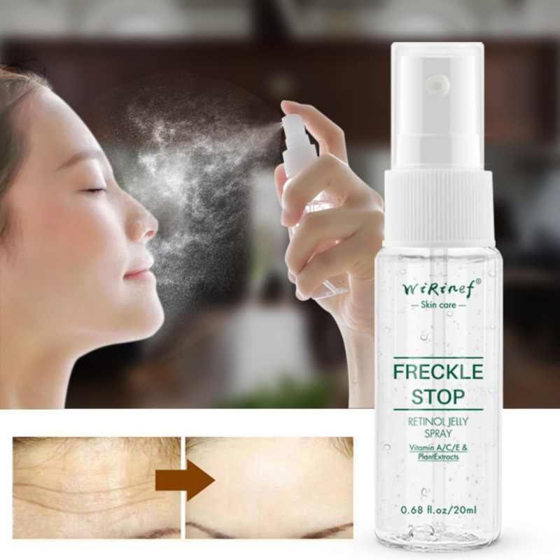Éclaircir le teint du visage blanchissant le Pigment éclaircissant élimine les taches de rousseur visage blanchissant le sérum 20ml