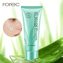 ROREC 92% Aloe Vera Gel Face Cream Hyaluronic Acid Anti Winkle Whitening Moisturizing Acne Treatment Remove Skin Care