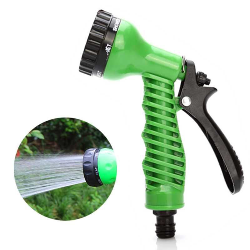 1PCs Tuin Water Sproeiers 7 Patronen Water Pistool Huishoudelijke Watering Slang Spuitpistool Voor Auto Wassen Schoonmaken Gazon Tuin levert
