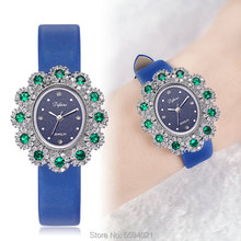 Di Feini Ms. female models diamond watch waterproof casual fashion watch quartz watch Ms. birthday gift belt section